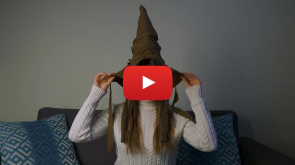 Говорящая Распределяющая шляпа